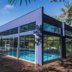 piscina coberta hotel inernacional gravatal sc