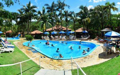 piscina externa cabanas termas hotel gravatal santa catarina